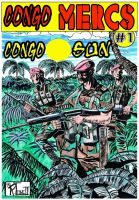 Substance B Cover of Congo Mercs #1: Congo Sun