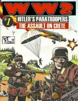 Substance B Cover of WW2 #1: Hitler's Paratroopers - The Assault on Crete