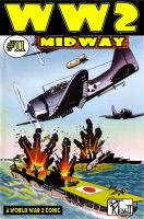 Substance B Cover of WW2 #11: The Battle of Midway